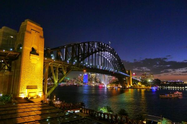 Golden Hour View of the Bridge