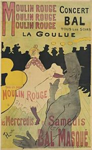 Moulin Rouge:  La Goulue 1891