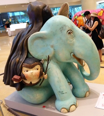 The Hiding Men and The Elephant by Carrie Chau