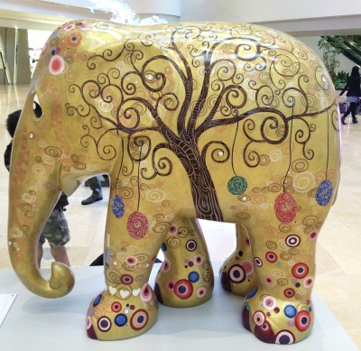 Tree of Life exclusively designed for Pacific Place by Diana Francis